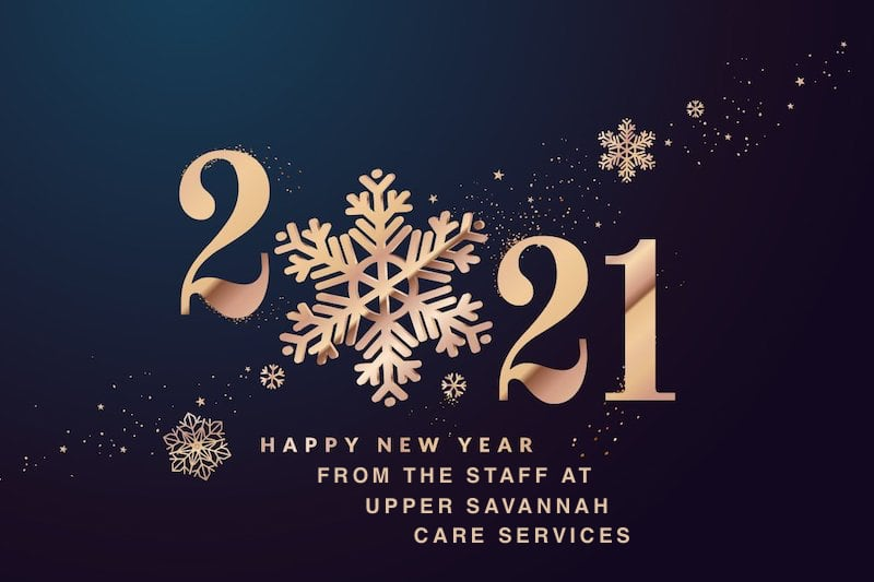 Happy New Year from the Staff at Upper Savannah Care Services